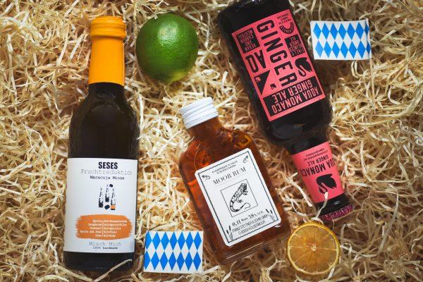 Bayerischer Cocktail mit Rum