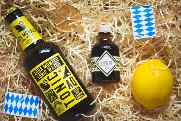 Illusionist Gin und Aqua Monaco: Gin&Tonic aus Bayern