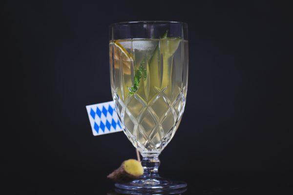 Hochrad Hopfenvodka & Aqua Monaco Ginger Beer: Bayerischer Mule
