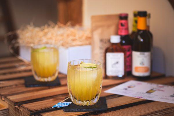 Bayerischer Cocktail im Glas